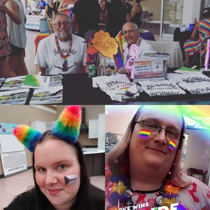 Celebrating Citrus Pride, Crystal River Mall